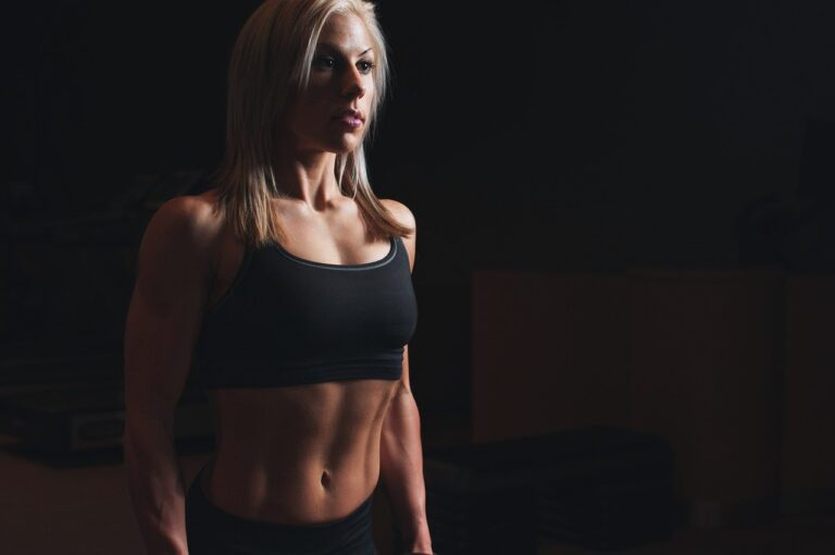 abs, athlete, biceps